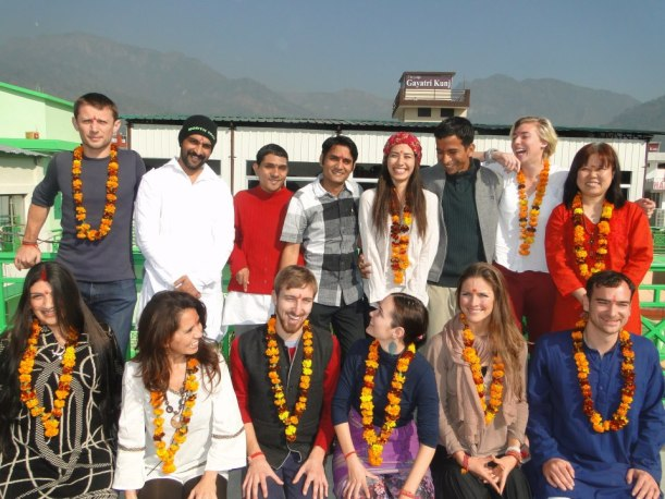 300 hr YTT  Rishikesh Yog Peeth December 2012